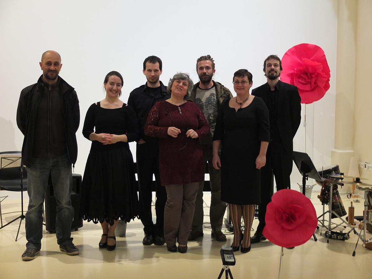 Poetrio -Concert in Pula-Istra, 12.3.2016